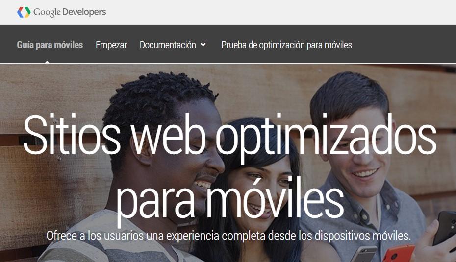 guia sitios web optimizazos para moviles